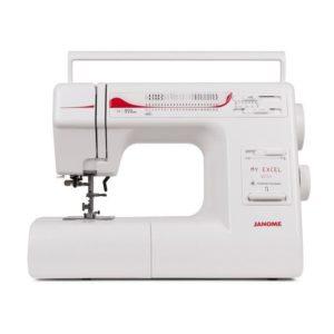 Бытовая швейная машина Janome W23U (23 операции, петля-автомат, электр.блок, рег.скор, позиц.иглы)