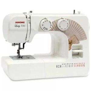 Бытовая швейная машина Janome Lady 735