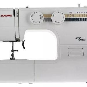 Бытовая швейная машина Janome MS 100 (12 операций, петля – полуавтомат, горизонт.челнок)