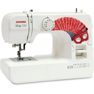 Бытовая швейная машина Janome Lady 725