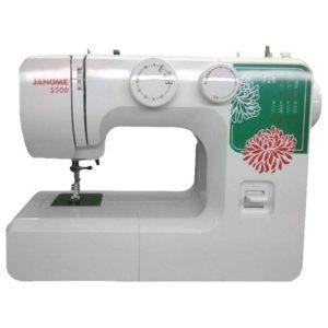 Бытовая швейная машина Janome 5500 (13 операций, петля – полуавтомат)