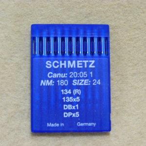 Иглы Schmetz DPх5 №180 (уп. 10 шт.)