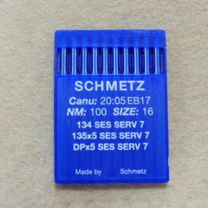 Иглы Schmetz DPх5 SES №100 (уп. 10 шт.)