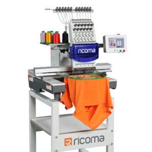 Ricoma TC-7S одноголовая 12/15-игольная вышивальная машина с 7″ сенсорным дисплеем