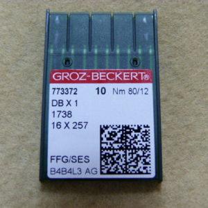 Игла Groz-beckert DBх1 №80 SES(уп. 10 шт.)