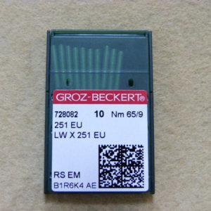 Игла Groz-beckert 251 EU №65 (уп. 10 шт.)
