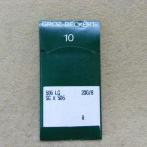 Игла Groz-beckert 506 LG (GK9) №230  (уп. 10 шт.)