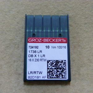 Игла Groz-beckert DBх1 LR №100 (уп. 10 шт.)