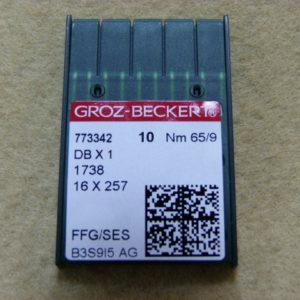 Игла Groz-beckert DBх1 №65 SES(уп. 10 шт.)