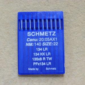 Иглы Schmetz DPх5 LR (134 LR) №140 (уп. 10 шт.)