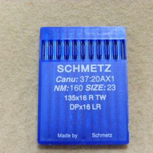 Иглы Schmetz DPх17 LR №160  (уп. 10 шт.)