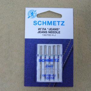 Игла Schmetz 130/705H-J №100 (5шт/уп)