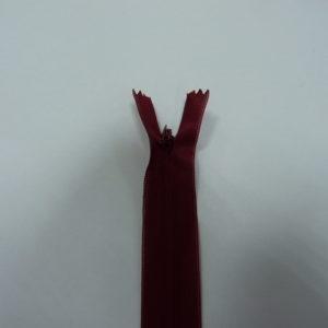 Молния потайная №3 20см ДС-239 вишневый