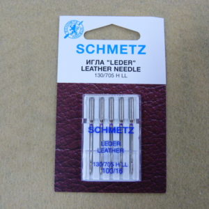 Игла Schmetz 130/705H LL №100 (5шт/уп)