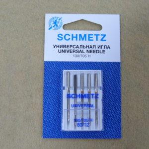 Игла Schmetz 130/705H №80 (5шт/уп)