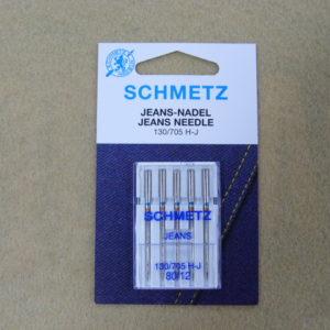 Игла Schmetz 130/705H-J №80 (5шт/уп)
