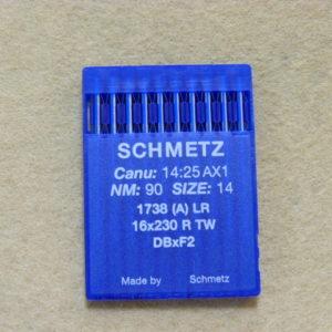 Иглы Schmetz DBх1 LR №90/14 (уп. 10 шт.)