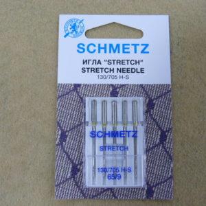 Игла Schmetz 130/705H-S №65 (5шт/уп)