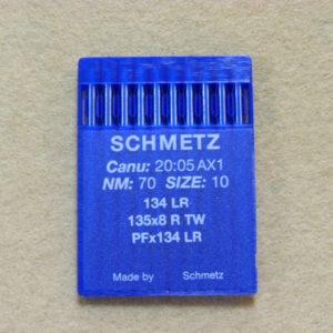 Иглы Schmetz DPх5 LR (134 LR) №70 (уп. 10 шт.)