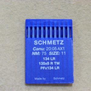 Иглы Schmetz DPх5 LR (134 LR) №75 (уп. 10 шт.)