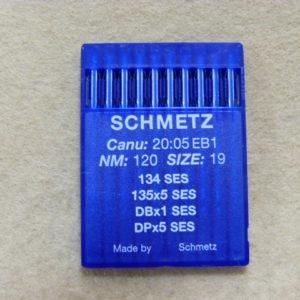 Иглы Schmetz DPх5 SES №120 (уп. 10 шт.)