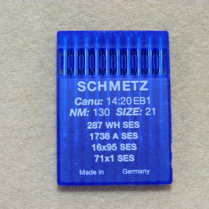 Иглы Schmetz 287WH SES №130 (DBх95) (уп. 10 шт.)