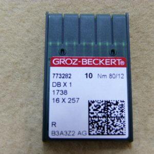 Игла Groz-beckert DBх1 №80(уп. 10 шт.)
