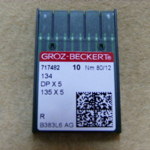Игла Groz-beckert DPх5 №80(уп. 10 шт.)