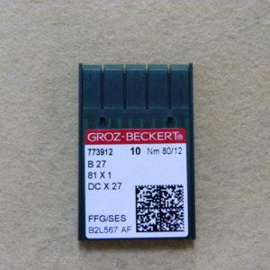 Игла Groz-beckert DCх27 SES №80(уп. 10 шт.)