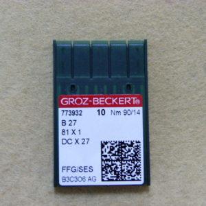 Игла Groz-beckert DCх27 SES №90(уп. 10 шт.)