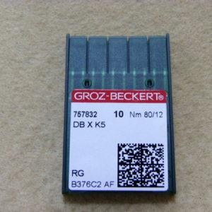 Игла Groz-beckert DBхK5 № 80 (уп. 10 шт.)