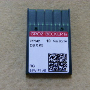 Игла Groz-beckert DBхK5 № 90 (уп. 10 шт.)