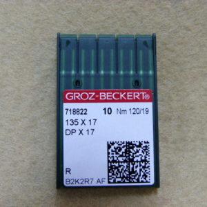Игла Groz-beckert DPх17 №120(уп. 10 шт.)