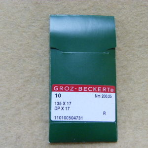 Игла Groz-beckert DPх17 №200(уп. 10 шт.)