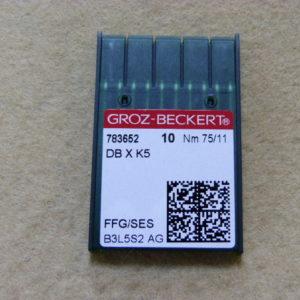 Игла Groz-beckert DBхK5 № 75 SES (уп. 10 шт.)