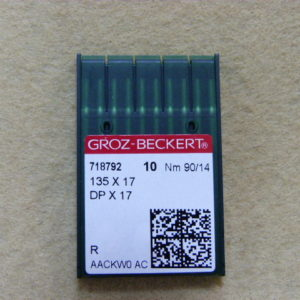 Игла Groz-beckert DPх17 №90(уп. 10 шт.)