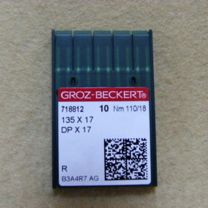 Игла Groz-beckert DPх17 №110(уп. 10 шт.)