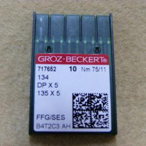 Игла Groz-beckert DPх5 №75 SES(уп. 10 шт.)