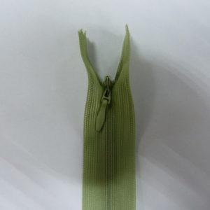 Молния потайная №3 20см ДС-071 зеленый