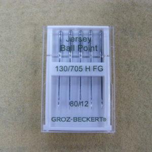 Игла Groz-beckert 130/705H FG №80 (5шт/уп) (трикотаж)