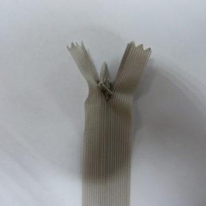 Молния потайная №3 20см ДС-373 светло-серый