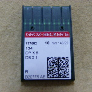 Игла Groz-beckert DPх5 №140(уп. 10 шт.)
