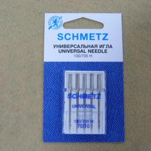 Игла Schmetz 130/705H №70 (5шт/уп)