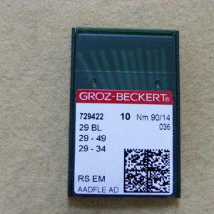Игла Groz-beckert LWx6T №90(уп. 10 шт.)