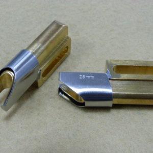 Приспособление JZ AT18C 28мм оконтователь в два сложения для толстых материалов