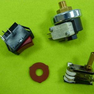 Запчасти для гладильного оборудования и парогенераторов