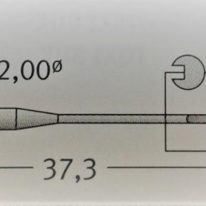 Иглы Schmetz UOx163 GAS №75/12  (уп. 10 шт.)