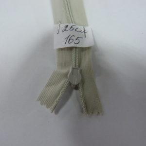 Молния потайная №3 25см Е-165 св.бежево-серый