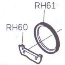 Двигатель ткани  Siruba R718/R728 RH61-E в сборе с креплением