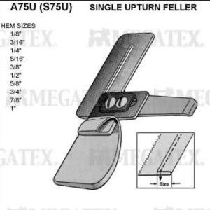 Приспособление A75U 1/4″ (S75U) для подгибки на прямострочную машину